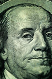 Close-up 100 dólares Imagens de Stock