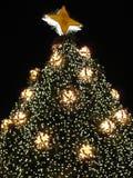 Close-up da árvore de Natal Imagens de Stock Royalty Free