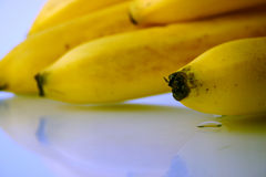 Close-up da banana fotos de stock royalty free