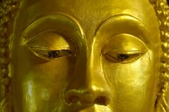 Close-up da Buda da cara Foto de Stock