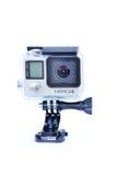 Close up da câmera da ação de Gopro hero4 Imagens de Stock Royalty Free