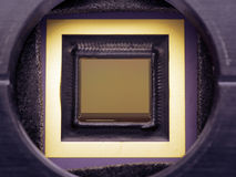 Close up da câmera do Ccd Fotografia de Stock
