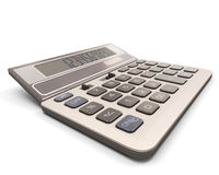 Close-up da calculadora Fotografia de Stock Royalty Free