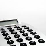 Close up da calculadora eletrônica imagem de stock