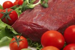 Close-up da carne fresca Fotografia de Stock