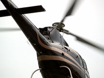 Close-up da cauda do helicóptero Fotos de Stock