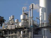 Close-up da central eléctrica Fotografia de Stock Royalty Free