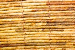 Close-Up da cesta de vime Foto de Stock Royalty Free