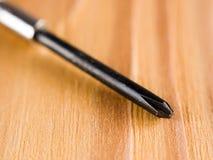 Close-up da chave de fenda imagem de stock