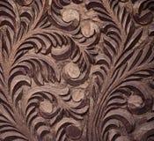 Close-up da cinzeladura de madeira áspera fotografia de stock royalty free