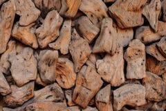 Close up da coberta do trajeto da microplaqueta de madeira Apropriado para fundos ou suficiências Fotografia de Stock