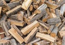 Close up da coberta do trajeto da microplaqueta de madeira Apropriado para fundos ou suficiências Foto de Stock Royalty Free