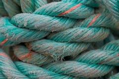 Close up da corda de turquesa imagens de stock