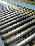 Close up da correia transportadora Fotos de Stock