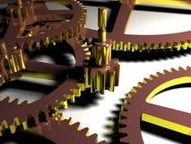 Close-up da engrenagem Imagens de Stock