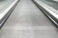 Close up da escada rolante Imagem de Stock
