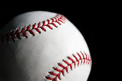 Close up da esfera do basebol Fotos de Stock Royalty Free
