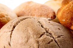 Close up da especialidade do pão de Brown Fotografia de Stock