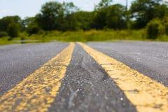 Close up da estrada Fotos de Stock