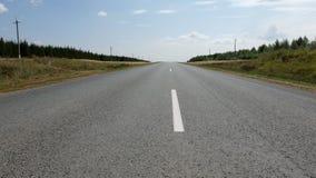 Close up da estrada Imagem de Stock