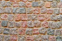 Close-up da estrada da pedra, teste padrão, fundo imagem de stock