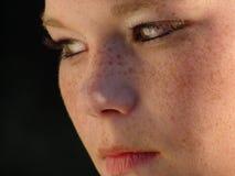 Close-up da face das meninas Imagens de Stock Royalty Free
