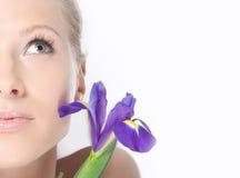Close-up da face fresca Foto de Stock Royalty Free
