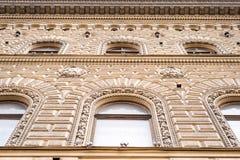 Close-up da fachada Imagens de Stock Royalty Free