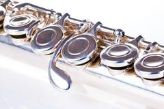 Close up da flauta foto de stock royalty free
