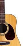 Close up da guitarra