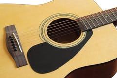 Close-up da guitarra clássica acústica Imagem de Stock Royalty Free