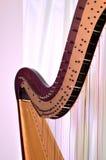 Close up da harpa do pedal Imagem de Stock Royalty Free