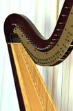 Close up da harpa do pedal Imagens de Stock