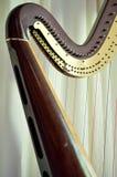 Close up da harpa do pedal Fotografia de Stock Royalty Free