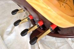 Close up da harpa do pedal de pedais do pé Imagem de Stock Royalty Free
