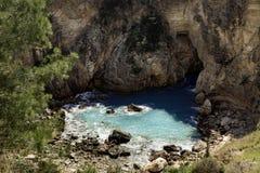 Close up da lagoa bonita de Cragum do anúncio de Antiochia imagens de stock royalty free