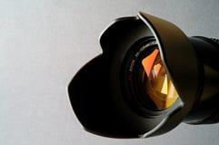 Close up da lente imagens de stock