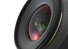 Close up da lente de câmera fotografia de stock royalty free