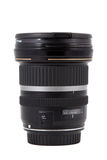 Close up da lente de câmera, equipamento avançado da foto Imagem de Stock