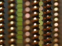 Close up da linha de parafuso Foto de Stock