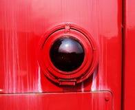Close up da luz da cauda do trem Imagem de Stock Royalty Free