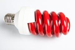 Close up da luz vermelha imagens de stock royalty free