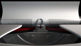 Close up da máquina de escrever Foto de Stock Royalty Free