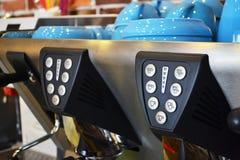 Close up da máquina do café Fotografia de Stock