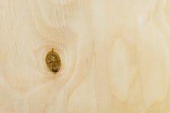 Close up da madeira compensada Fotografia de Stock Royalty Free