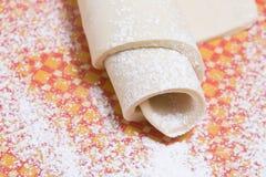 Close up da massa de pão Fotografia de Stock Royalty Free