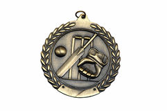 Close up da medalha dos esportes Fotos de Stock Royalty Free