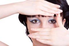 Close up da menina Imagens de Stock