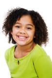 Close-Up da menina feliz Imagens de Stock