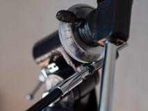 Close up da montagem do azimute fotos de stock